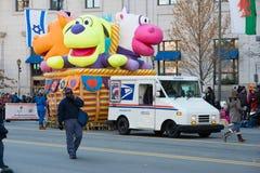 Philadelphie, PA - 23 novembre 2017 : Défilé annuel de jour de thanksgiving dans la ville centrale Philadelphie, PA Photo stock