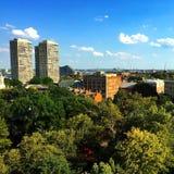 Philadelphie pendant l'été Image stock