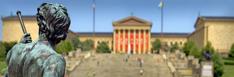 The Philadephia Museum of Arts. Panorama of the Philadephia Museum of Arts, PA Royalty Free Stock Image