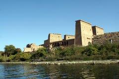 Philae寺庙在埃及。 免版税库存图片