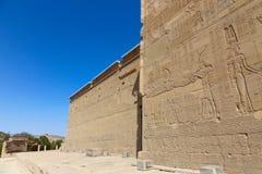 Philae寺庙阿斯旺,埃及 免版税图库摄影