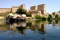 philae Royaltyfria Bilder