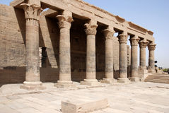 Philae Isis temple royalty free stock images