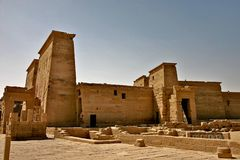 Philae island - Egypt. Philae island - Aswan in south Egypt royalty free stock photography