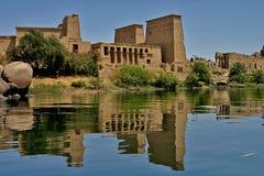 Philae island - Egypt. Philae island - Aswan in south Egypt stock image