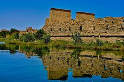 Philae island - Egypt Stock Image
