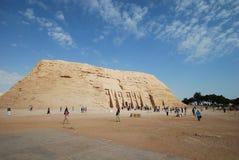 Philae på Aswan, Egypten Arkivfoto
