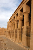 Philae pillars Stock Photos