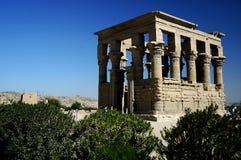 Philae Tempel Lizenzfreies Stockfoto