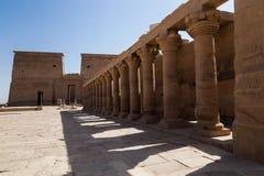 Philae-Tempel Stockfoto