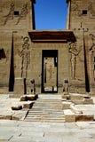 Philae Tempel Stockfoto