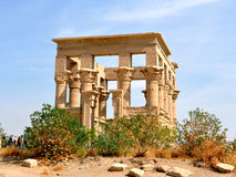 Philae Templeï ¼ ŒAswan Egipt zdjęcia royalty free