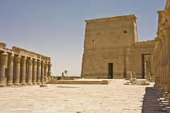Philae temple. Details of Egyptian art,: Philae temple Royalty Free Stock Photos