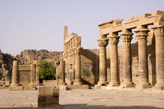 Philae temple Royalty Free Stock Photography