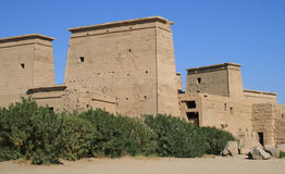 Philae Temple 26 Stock Photo