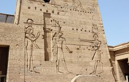 The Philae Temple, on Agilkia Island. Egypt. Stock Photo