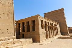 Philae temple Aswan, Egypt Royalty Free Stock Photography