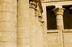 Philae Temple - Aswan - Egypt Stock Photography