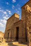 Philae temple pylon Royalty Free Stock Photography