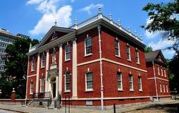 Philaelphia, Πενσυλβανία: Το ίδρυμα του Franklin Στοκ Φωτογραφίες