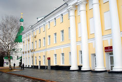 Philarmonic大厦 克里姆林宫在下诺夫哥罗德,俄罗斯 库存图片