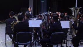 Philarmonic Orchestra concert stock video