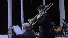Philarmonic Orchestra concert stock video footage