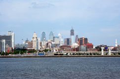 Philedelphia waterfront city scape Stock Photo