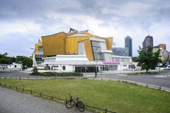 The philharmonic berlin germany europe Royalty Free Stock Image