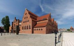 philharmonic gdansk korridor Royaltyfri Bild