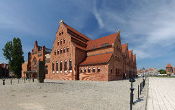 Philharmonic Hall in Gdansk Royalty Free Stock Image