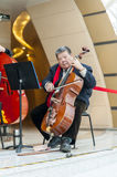 Philharmonic orchestra cello Royalty Free Stock Photography