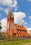 Philharmonic Organ Hall (1907) in Kaliningrad, Russia Stock Image
