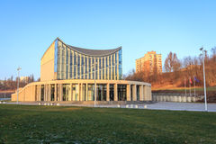 Philharmonic in Poland. Philharmonic in Gorzow Wielkopolski. Art and architecture photography Stock Images