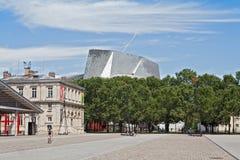 Philharmonie de Parigi in Parc de la Villette Fotografia Stock