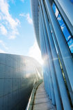 Philharmonie on the Kirchberg Plateau in Luxembourg City royalty free stock photo