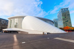Philharmonie on the Kirchberg Plateau in Luxembourg City royalty free stock photos