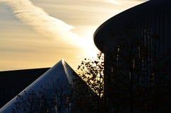Philharmonie Lussemburgo Fotografia Stock Libera da Diritti