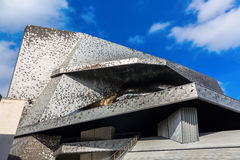 Philharmonie Parc de Villette στο Παρίσι, Γαλλία Στοκ εικόνα με δικαίωμα ελεύθερης χρήσης