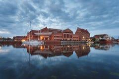 Philharmonische Gesellschaft von Gdansk Stockfoto