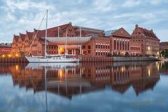 Philharmonische Gesellschaft von Gdansk Lizenzfreies Stockbild