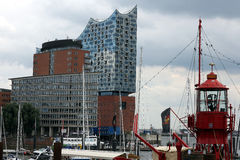 Philharmonisches Orchester Hamburgs Lizenzfreie Stockfotografie
