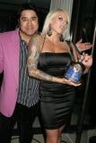 Philip Delacruz och Trisha Lurie  Royaltyfri Fotografi
