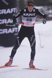 Philip Furrer - cross country skier Royalty Free Stock Photos