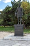 Philip II of Macedon Monument at embankment of city of Thessaloniki, Central Macedonia, Royalty Free Stock Photo
