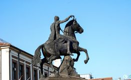 Philip II, Monument in Bitola, Macedonia Royalty Free Stock Photos