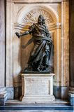 Philip IV Felipe IV statue in the Santa Maria Maggiore cathedral in Rome, Italy royalty free stock photo