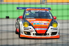 Philip Ma racing at Porsche Carrera Cup Asia Royalty Free Stock Photography