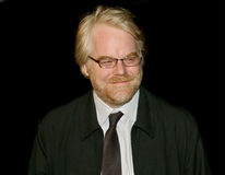 Philip Seymour Hoffman Fotografia Stock