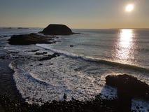 Philip wyspa, Wiktoria, Australia - zmierzch fotografia royalty free
